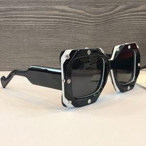 Popular new selling Luxury designer sunglasses for women 0481 square plate full framework top quality fashion lady generous style uv400 lens