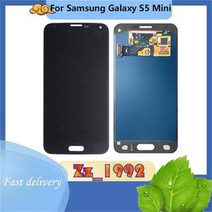 """Panneaux tactiles de téléphone portable 4.5 """"Super qualité Original pour Samsung Galaxy S5 Mini Black Black LCD Afficher l'écran Digitizer"""