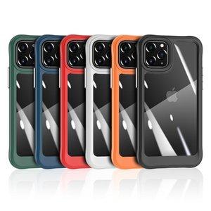 Ultra Clear Aupporture Pro Card Phure PCU для iPhone 12 11 Pro Max XR XS X 8 7 6 PLUS Независимый серебряный Botton Courphone Cover с розничной упаковкой