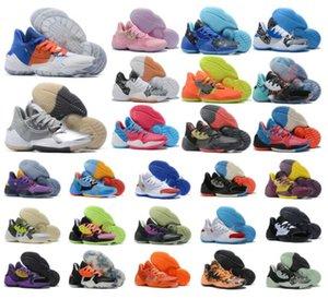 Erkekler Hardingler Vol.4 4 S IV Erkek Basketbollar Ayakkabı Açık Spor Eğitim Sneakers Boyutu US7-12 A9