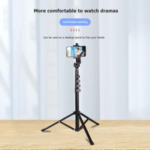 Tripods Aluminium 4-section Tripod Adjustable Portable Quick Release Trigger Extendable Lightweight For Camera