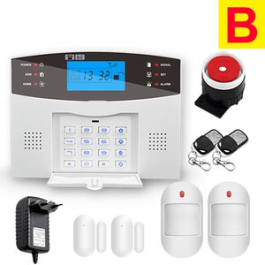 Wifi GSM PSTN Alarm System Wireless & Wired Detectors Smart Home Relay Output APP English Russian Spanish France Italian