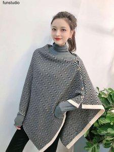 الكورية زر جديد المموج شال ثنائي الغرض الخريف والشتاء سماكة الكشمير الدافئ مثل وشاح المرأة