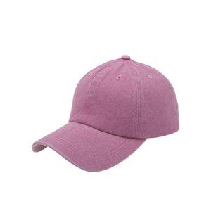 아이 야구 모자 소년 소녀 태양 바이저 지저분한 포니 테일 롤빵 모자 씻어 목화 snapback 공 여름 힙합 야외 모자
