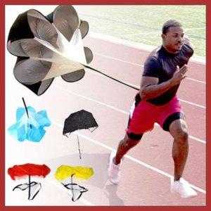new Running Chute Outdoor Speed Training Resistance Parachute Sports equipment Umbrella CCD7906