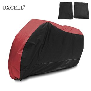 Uxcell Motorcycle Cover Universal Outdoor Uv Protector for Scooter Waterproof Bike Rain Dustproof Cover for Yamaha Suzuki Etc.