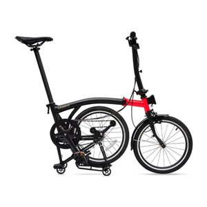 Bikes Litepro 349 16 Inch 3 Speed V Brake Folding Bike Chrome-Molybdenum Steel Frame Leisure Assembly Bicycle