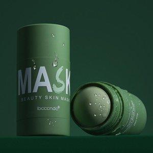 Green Tea Cleansing Solid Mask Deep Clean Beauty Skin GreenTeas Moisturizing Hydrating Face Care Facial Masks & Peels