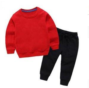 Sets de suéter de bebé Conjuntos de ropa para niños Otoño e invierno Nuevo patrón Masculino Chica Suéter Sweater Childrens 2-11 años Chaqueta Capa Camisa