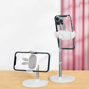 Cell Phone Mounts & Holders Ear Mobile Holder Retractable Smart Stand Multiple Angles To Adjust Stable And Unshakable Clamping Suppor