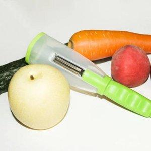 البطيخ قشرة المشجعة مقشرة تجريف متعددة الوظائف تخزين مكشطة تقشير سكين مع اسطوانة التفاح تقشير سكين التقشير المنزلية HHC6737