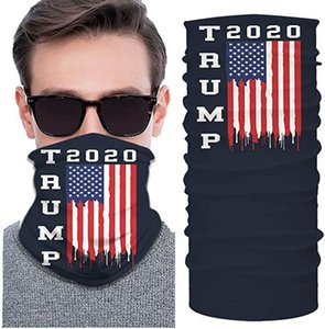 Windproof Mask Unisex Neck Trump Dust Gaiter Face Mask Outdoor Balaclava Scarf Bandana vot for