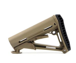 MP PTS CTR NYLON CARBINE STOCK .223 COMMERCIAL SPEC 6 POSITION Collapsible buttStock BPTS CTRLACK Tan OD Green