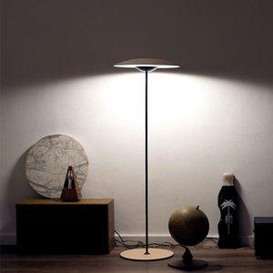 Floor Lamps Italian Lamp Designer Modern Art Vertical Flying Saucer Model Room Exhibition Hall Living Bedroom Standing