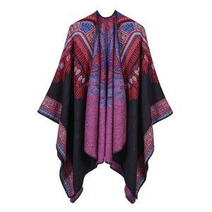 Luxury Brand scarves shawls Fashion Lady Warm Pashmina Ethnic High Quality Imitation Cashmere Shawls Autumn Winter Abstr
