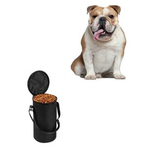High Ending Oxford Waterproof Food Bag Dog Feeders Travel Bowls Dry Food Container bag for dog food