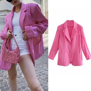 spring fashion young women Suit jacket casual street chic office brand women's suit coat 210601
