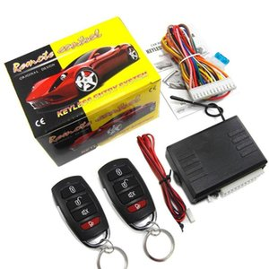2020 New Vehicle Keyless Entry System Universal 12V Car Remote Central Kit Anti-theft Door Lock With Remote Controllers