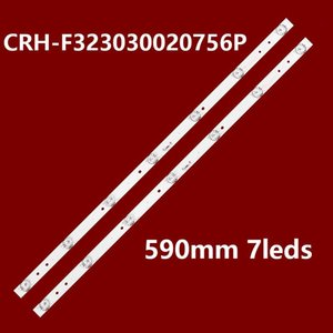 Bar Lights 59cm LED Backlight Strips For 32'' Haier LE32B510X LD32U3100 LD32U3200 32A3 CRH-F323030020756P-REV1.0