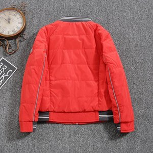 Jacket For Boys 2021 Europe Russia Spring Autumn Thick Parker Coat Red Green Blue Coats With A Hood Height110-134CM 4A-8A P301 Men's Down &
