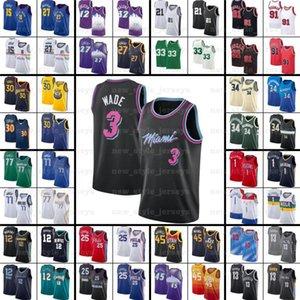 Kevin 7 Durant Kyrie Harden Irving Luka Basketbol Formaları Giannis Westbrook Doncic Joel Dwyance Lillard Embiid Antetokounmpo Pippen Morant