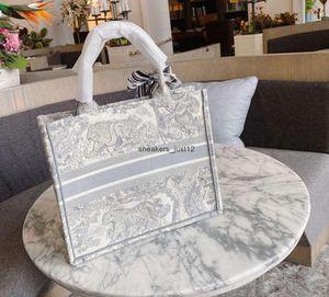 Новый вышитый тигр большой емкости роскошный большой бренд сумка для покупок рукой женщина ручной работы двусторонний цветок путешествия плечо