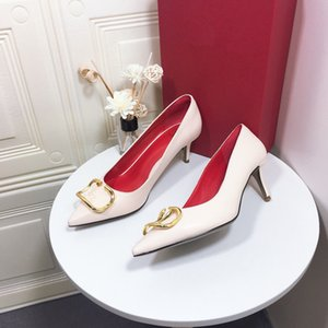 Luxury designer high heels women's shoes red sole high heels leather sexy super high heel prom prom dress shoes