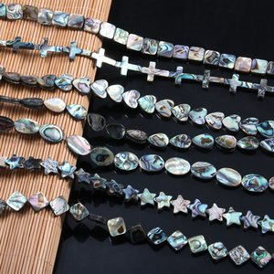 2020 Natural Abalone Shells Beads for Charm Jewelry Making DIY Bracelet Necklaces Accessories For Women Whole