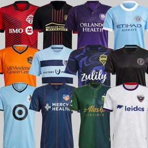 MLS 2120 Los Angeles La Galaxy Inter Miami Soccer Jersey 2122 Portland Sporting Kansas City Cincinnati Atlanta D.C United Миннесота Йорк Футбол Ширс Бекхэм