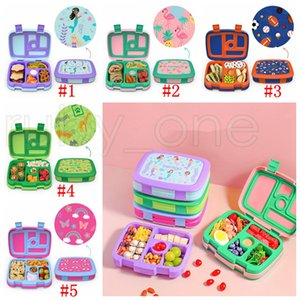 2 or 1 Pcs Lunch Box For Kids Food Containers Microwavable Bento Snack Box Cartoon School Waterproof Storage Box RRA4403