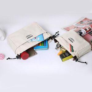Storage Bags Travel Cosmetic Bag Canvas Waterproof Multifunction Organizer Women Organizador Household Products DF50B