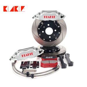 KLAKLE Auto Car Brake Kit 7600 Designer Brakes Caliper 300*24MM Full Set 16 Inches Front Wheel For Mitsubishi-lancer Ralliart 2011