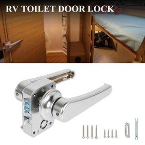 Toilet Door Lock Bathroom Caravan Boat Latch Handle RV Accessories ATV Parts
