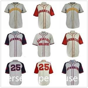 Monarchs da cidade de Kansas 1942 Home Road Jersey Todas as mulheres dos homens costurados Juventude Jerseys de beisebol retrô