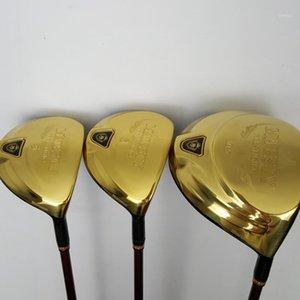 Männer Golf Majesty Prestigio 9 Treiber und Fairway Holz Graphitwelle L Flex mit Kopfhüllen Komplett Satz von Clubs1