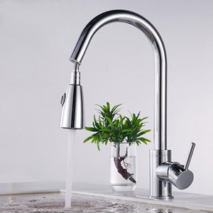 Water Saving Faucet Shower Pull Out Head & Hose Kit Trailers Single Handle Cold Tap Sink Set Bathroom Kitchen Sets