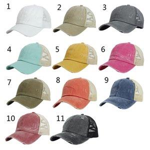Бейсболка BUN Шляпа для мужчин Женщина Чистый хвост Летние солнцезащитный козырек Открытый хип-хоп Ins Snapback