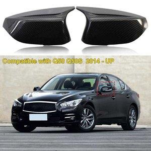 Perfect Match Compact Horn Design Side Mirror Cover 963744GA0H 963734GA0H for Infiniti Q50 Q60 QX30 Q70