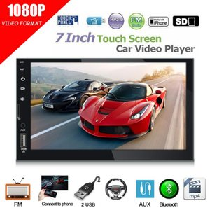 Vídeo Video Universal Tela do monitor Suporte Reverse Câmera DVD Duplo 2Din MP5 Player Bluetooth Rádio Estéreo USB AUX em