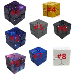 Cubes Puzzle Magic Cube Infinite Unzip Stress Reliever Autism Toys Relax Toy For Adults Children Gift