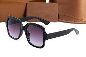 Designer Square Sunglasses Men Women Vintage Shades Driving Polarized Sunglass Male Sun Glasses Fashion Metal Plank Sunglas Eyewear 888