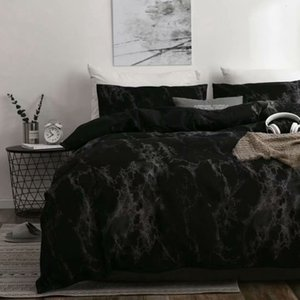 Luxury Bedding Sets Russian Euro Duvet Cover Single King Queen Family Size Linens Black Bed Set Bedclothes 200x200 582 V2