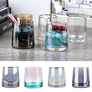 250ml Creative Wine Glasses Whiskey Glass Home Bar Supplies Colorful Phnom Penh Glass Cup 10 Style BWF10507