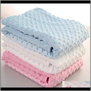 Baby Peas Blanket Sofa Blanket Kids Soft Foam Blankets Throw Rugs Sleeping Bag 102*76Cm 6 Colors Cpwau 1Insm