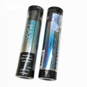 Barra de aire Max Desechable E Cigarrillo 2000 Puffs Vape Vape 1250mAh Batería 6.5ml POD 12 Colores Cigarrillos electrónicos