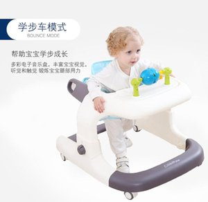 Baby Walkers Toddler Walker Anti-rollover Multi-function Babywalker 6-7-12-18 Months Male And Female Children Can Sit By Hand