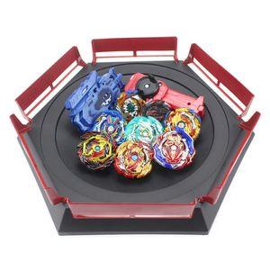 New Beyblade Burst Set Launchers Beyblade Toys Arena Bayblades Toupie Metal Burst Avec God Spinning Top Bey Blade Blades Toy X0528