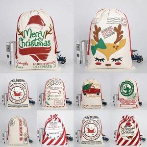 حزب زينة عيد الميلاد سانتا كيس كيس الغزلان الرباط قماش الحلوى هدية جوارب السنة الجديدة عيد الميلاد المنزل الديكور الداخلي