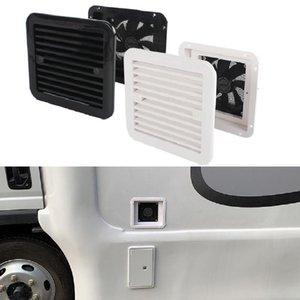 1x ventilação de geladeira com ventilador para trailer rv caravana lateral de ar de ventilação de ventilação escape branco acessórios de substituição ATV peças