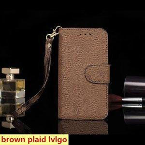 Per iPhone 12 12Pro Max 11 Pro XS XR XSMAX 7 8 Plus Castelli Telefono Top Quality Pelle Moda Portafoglio Pocket Design Deluxe Copertura del cellulare